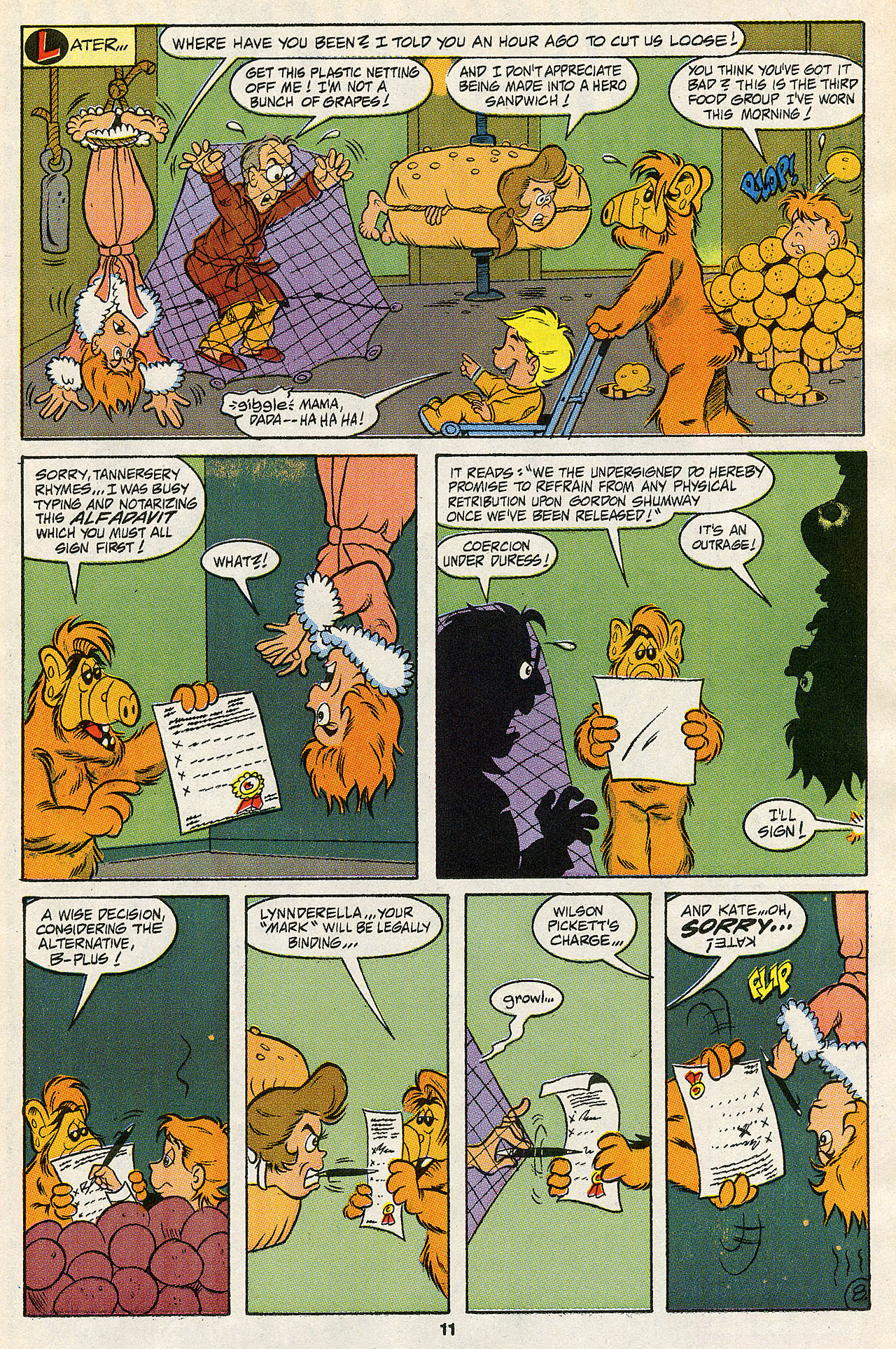 Read online ALF comic -  Issue #43 - 13