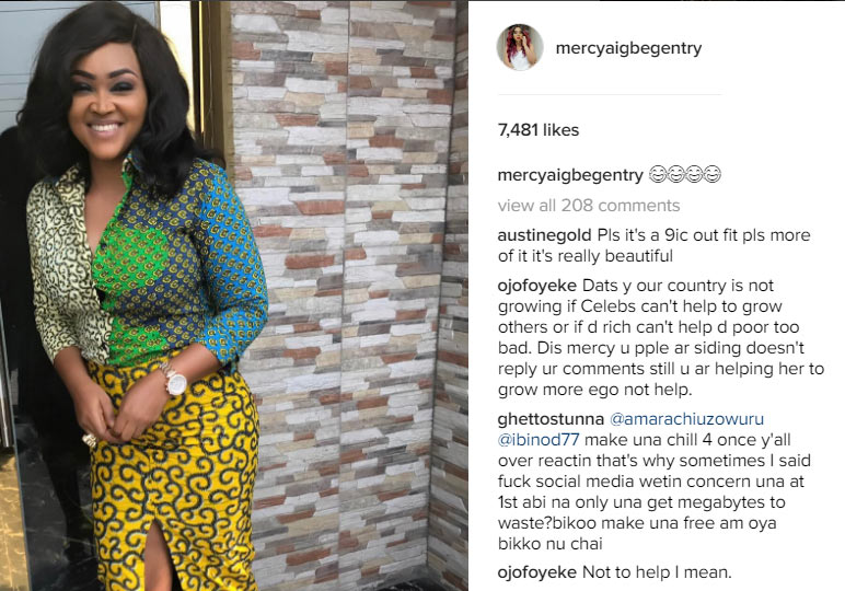 Fashion designer vs Mercy Aigbe: It appears Mercy Aigbe is lying