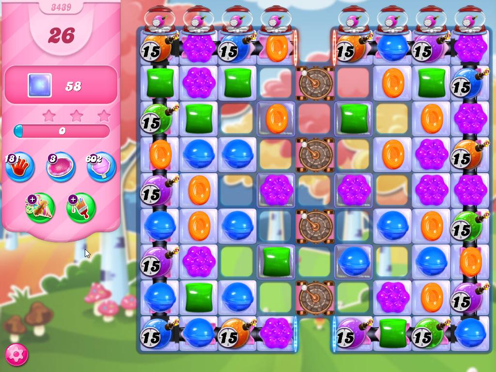 Candy Crush Saga level 3439