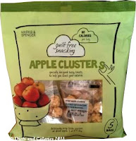 M&S Guilt Free Snacking Apple Clusters