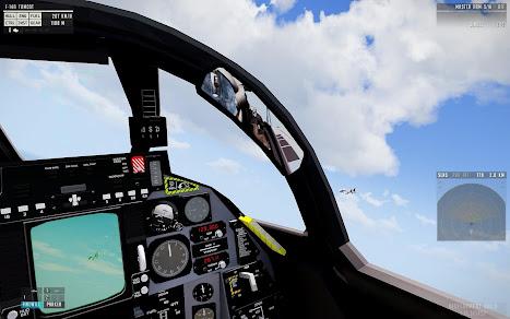 Arma3用F-14 Tomcat 戦闘機MODのTCSが改良