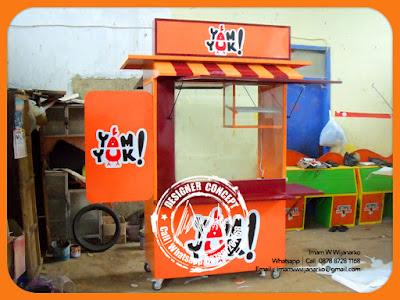 produksi gerobak ayam goreng yamyuk