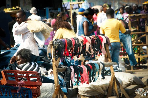Used underwear market in Zambia