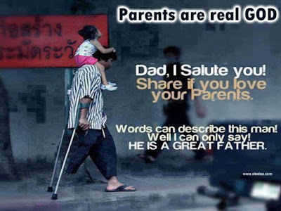 Quotes About Parental Love:dad, i salute you!