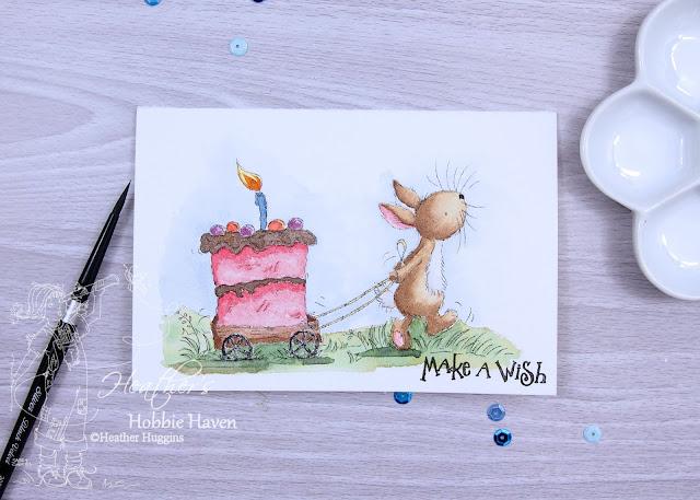 Heathers Hobbie Haven - Cream Cake Water Color