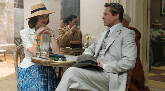 """Brad Pitt e Marion Cotillard no trailer do drama de Guerra """"Aliados"""", de Robert Zemeckis"""