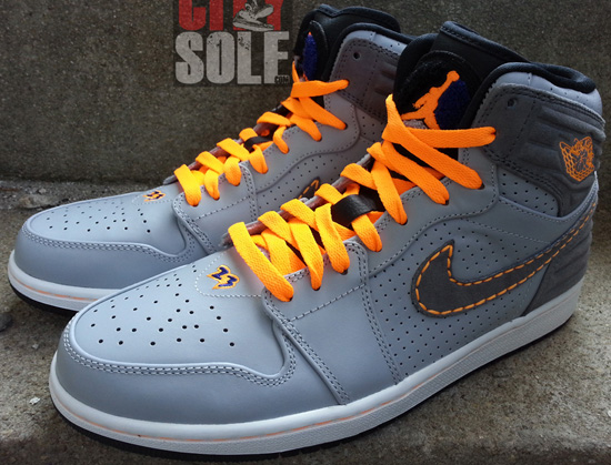 new styles bafd6 fb429 This Air Jordan 1 Retro  93 comes in a wolf grey, cool grey, bright citrus  and deep royal blue colorway. Known as the