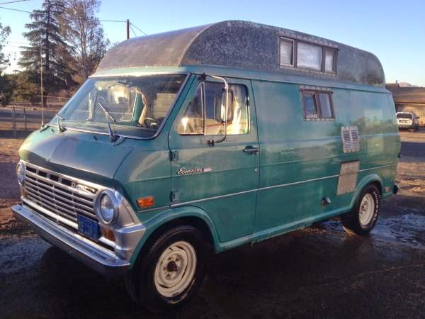 used rvs 1969 ford van camper conversion for sale by owner. Black Bedroom Furniture Sets. Home Design Ideas