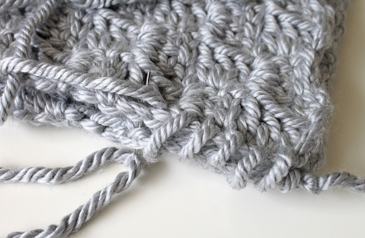 Crochet Whip Stitch : The Craft Patch: Free Crochet Pattern: Chunky Stairstep Throw Pillow