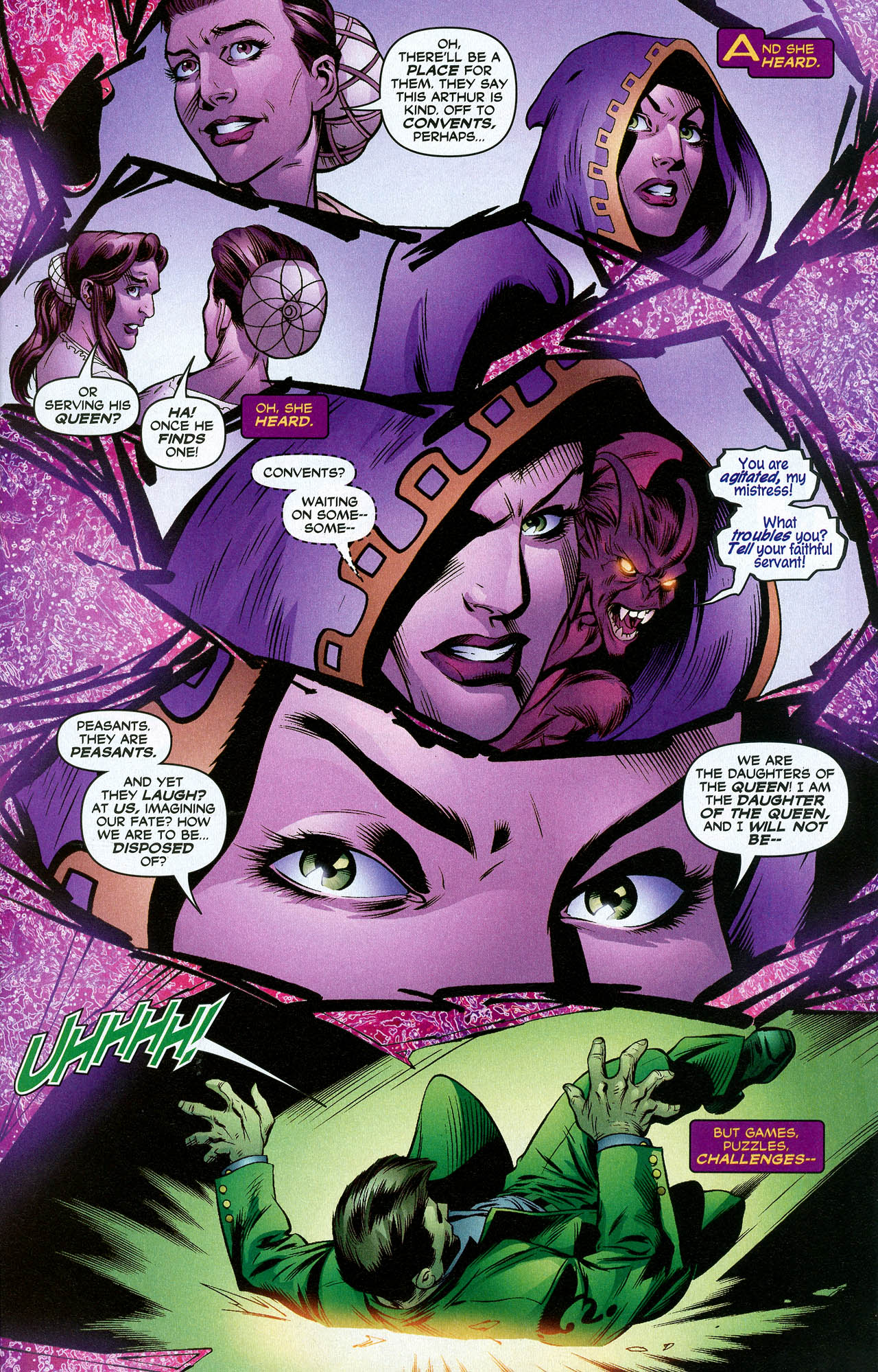 Read online Trinity (2008) comic -  Issue #21 - 9