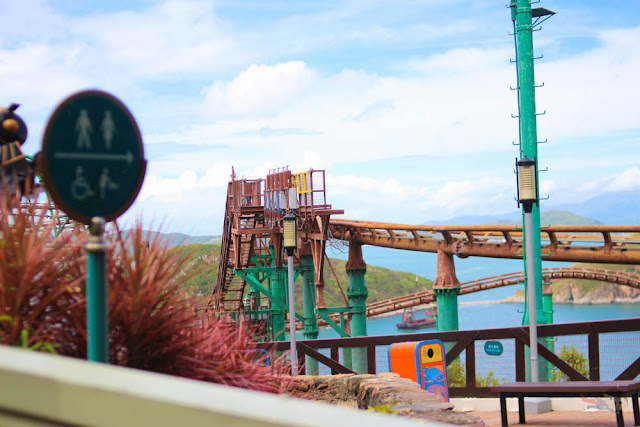 Mine Train of Ocean Park Adventure