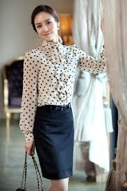 Model Atasan Baju Kemeja Wanita Ala Korea Modern