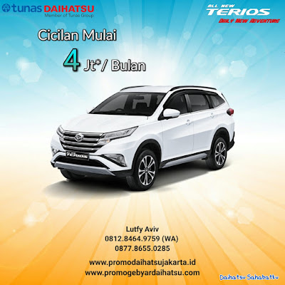 PROMO KREDIT ALL NEW TERIOS 2018