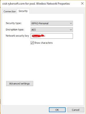 show passwords WiFi network