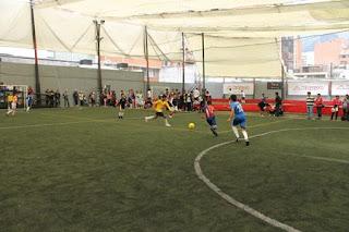 Fútbol 5 Chapinero Bogotá