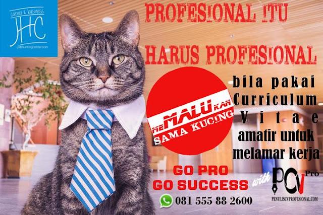 Jasa Pembuatan CV Profesional