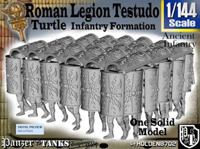 1-144 Roman Testudo picture 1