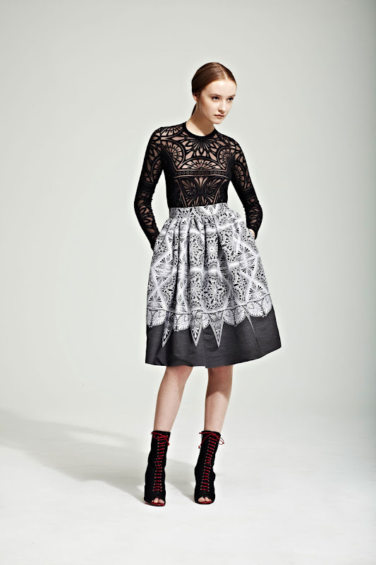 Jonathan Saunders Autumn/Winter 2012/13 Women's Collection