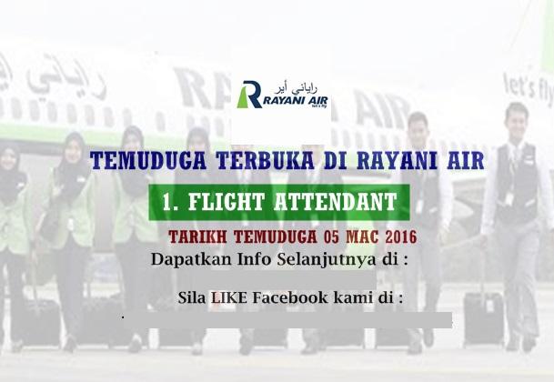 Temuduga Rayani Air 'Low Class', Buang Masa, Beratur Panjang??