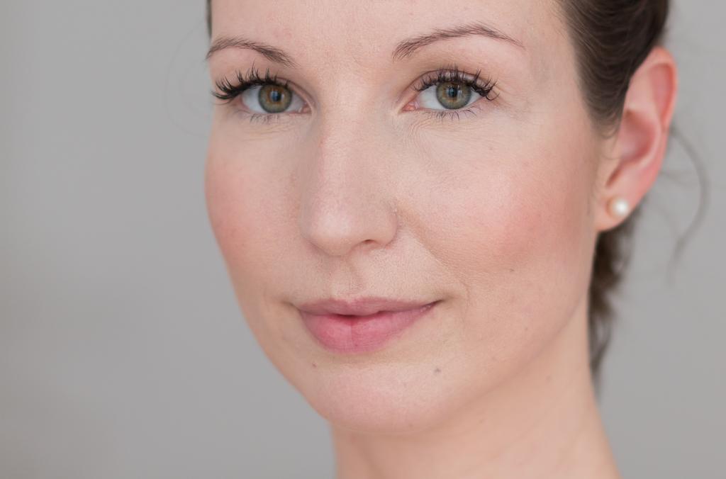 Wimpernverlaengerung Lash Extensions eine Woche getragen