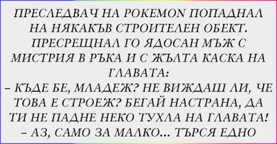 [Забавен ВИЦ] Преследвач на Pokemon