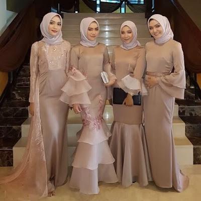 Baju Kebaya Muslim Terusan Unik