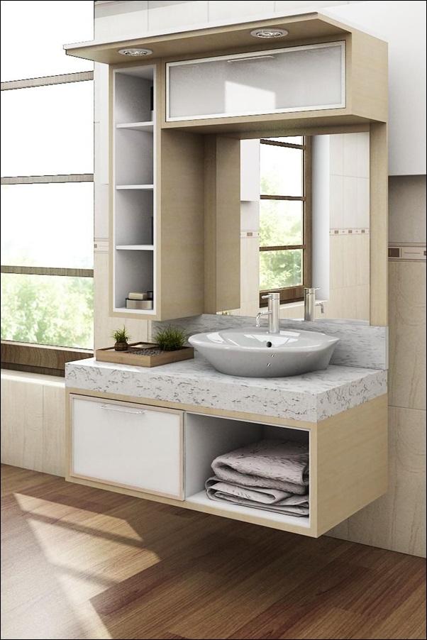 balcão banheiro planejado