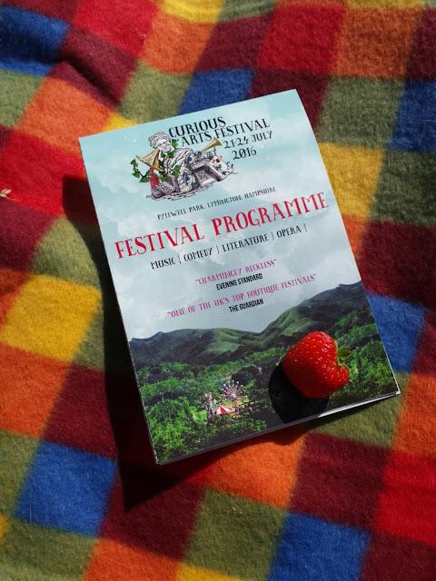 curious arts festival programme
