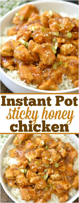 Spicy Honey Instant Pot Chicken - New Healthy Recipes