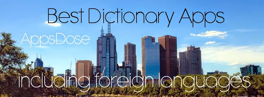 AppsDose Best Foreign Language Dictionary Apps for iPhone and iPad