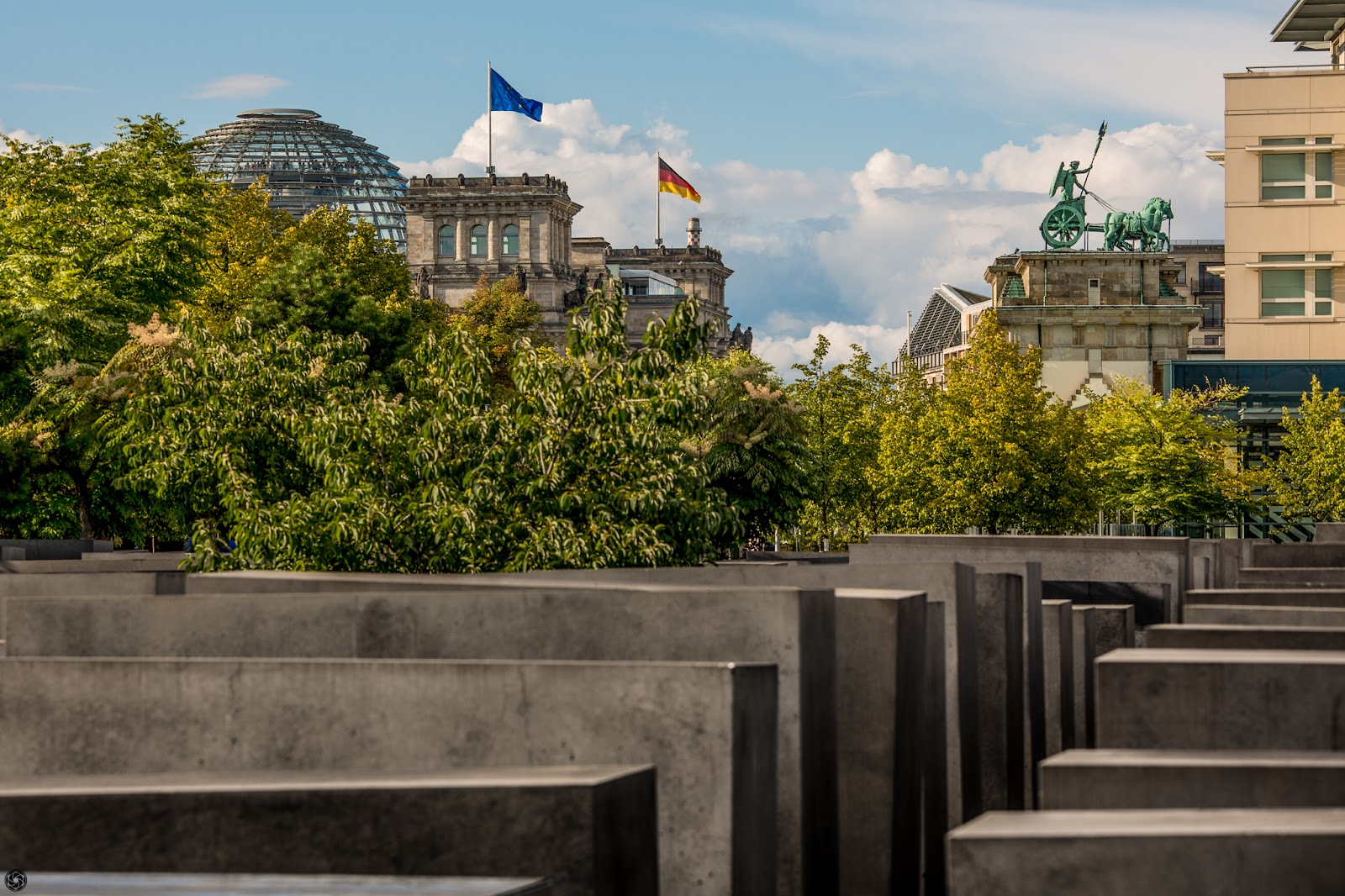 Monumento en memoria del holocausto judío en Berlín :: Canon EOS5D MkIII | ISO100 | Canon70-200 @121mm | f/8.0 | 1/160s