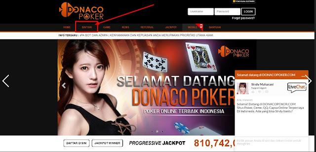 Donacopoker Judi Kartu Online Terpercaya Register Only Donacopoker Tk