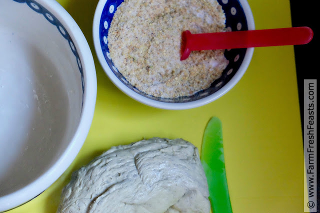 ingredients for making matcha monkey bread