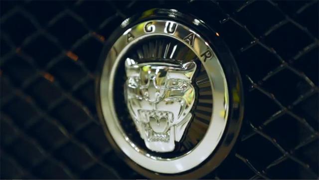 2013 Jaguar XKR-S Nicko McBrain Logo