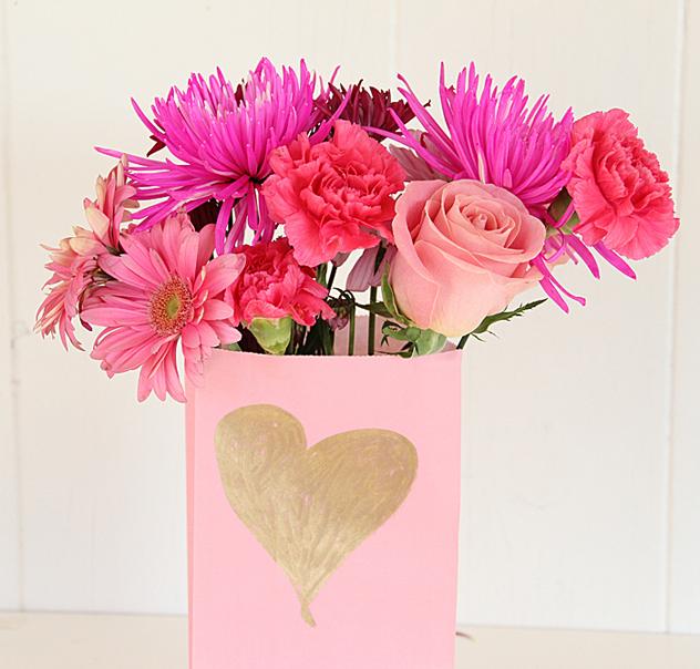 Paper Flower Vases Forteforic