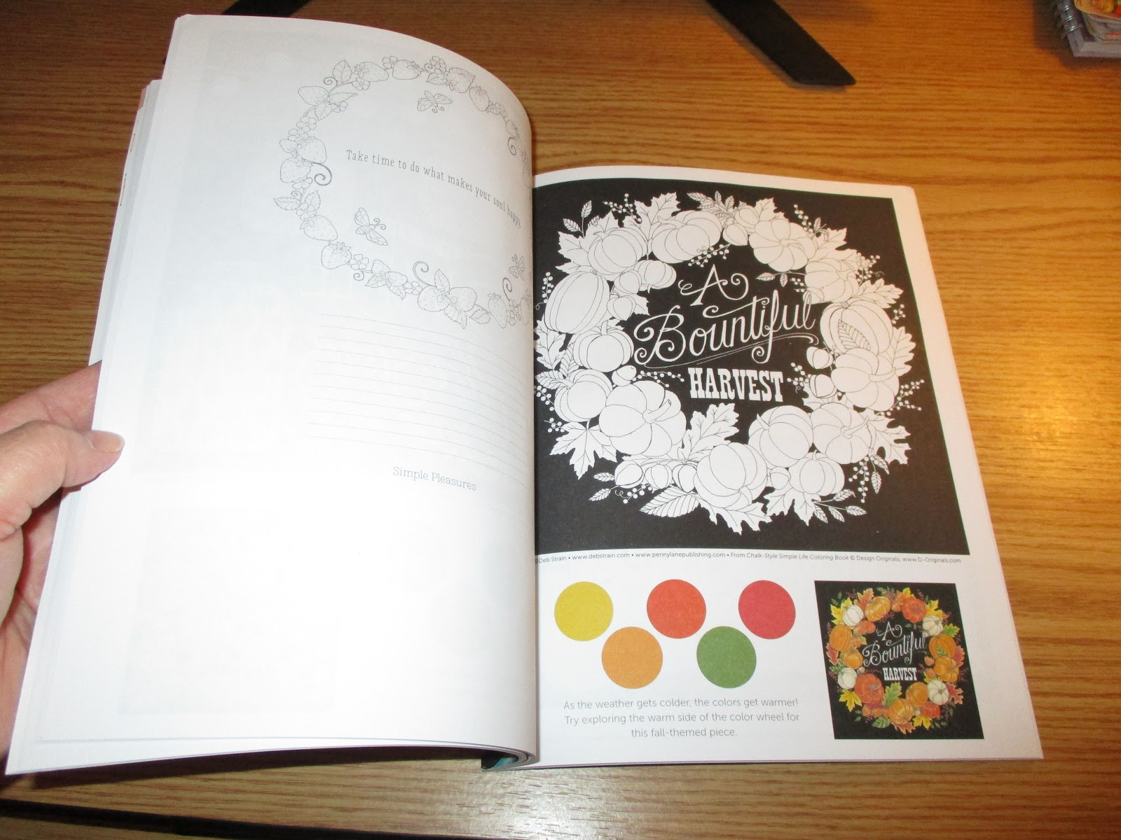 Chalk Style Simple Life Coloring Book Is An Appetizing That Offers A Cornucopia Of Hand Drawn Designs Celebrate The Community Spirit