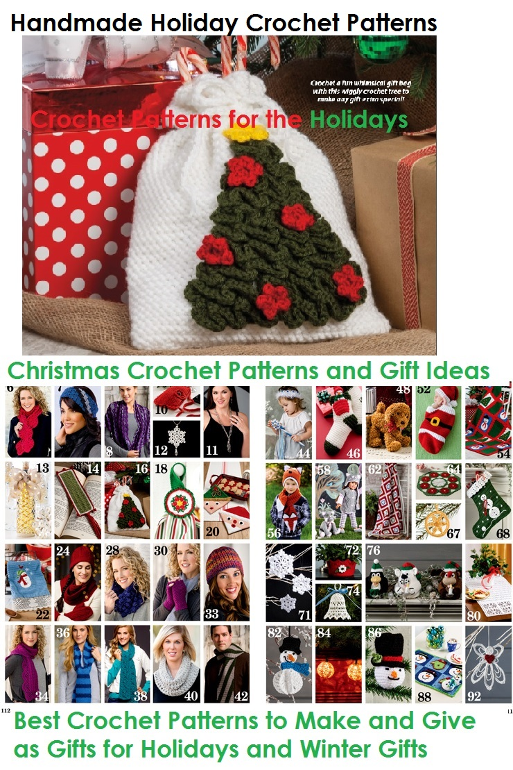 Handmade Holiday Crochet Patterns