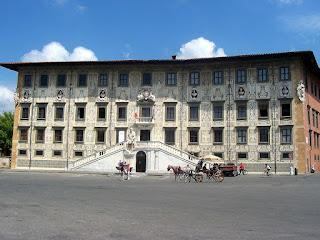 The Palazzo dei Cavalieri, main seat of the Scuola  Normale Superiore in Pisa