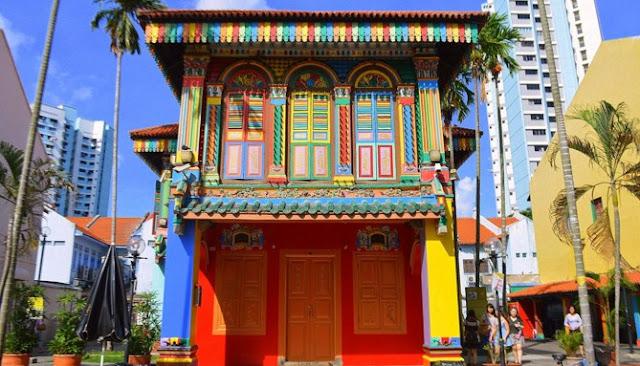 Inilah Enam Tempat Yang Dipenuhi Warna Di Seluruh Dunia