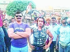 """Uttrakhand MLA Pranav Singh """"Champion"""" called Salman Khan 'shorty' after he was not allowed to meet the Bollywood star on Friday.   """"Champion"""" had gone to  meet Salman, who is busy shooting for his next movie Sultan at Muzaffarnagar, under a security cover of 1,000 policemen.   The police turned """"Champion"""" away saying Salman did not have any time to spare outside the shooting schedule."""
