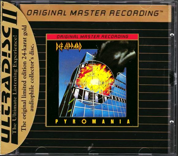 DEF LEPPARD - Pyromania [MFSL 24kt Gold Ultradisc II Original Master Recording] full