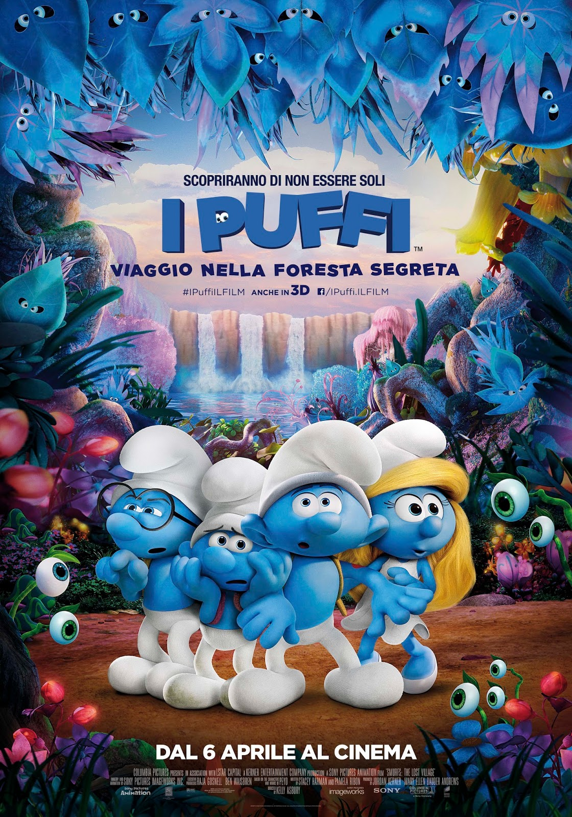 Puffi italiano storia del cinema per i bambini the smurfs