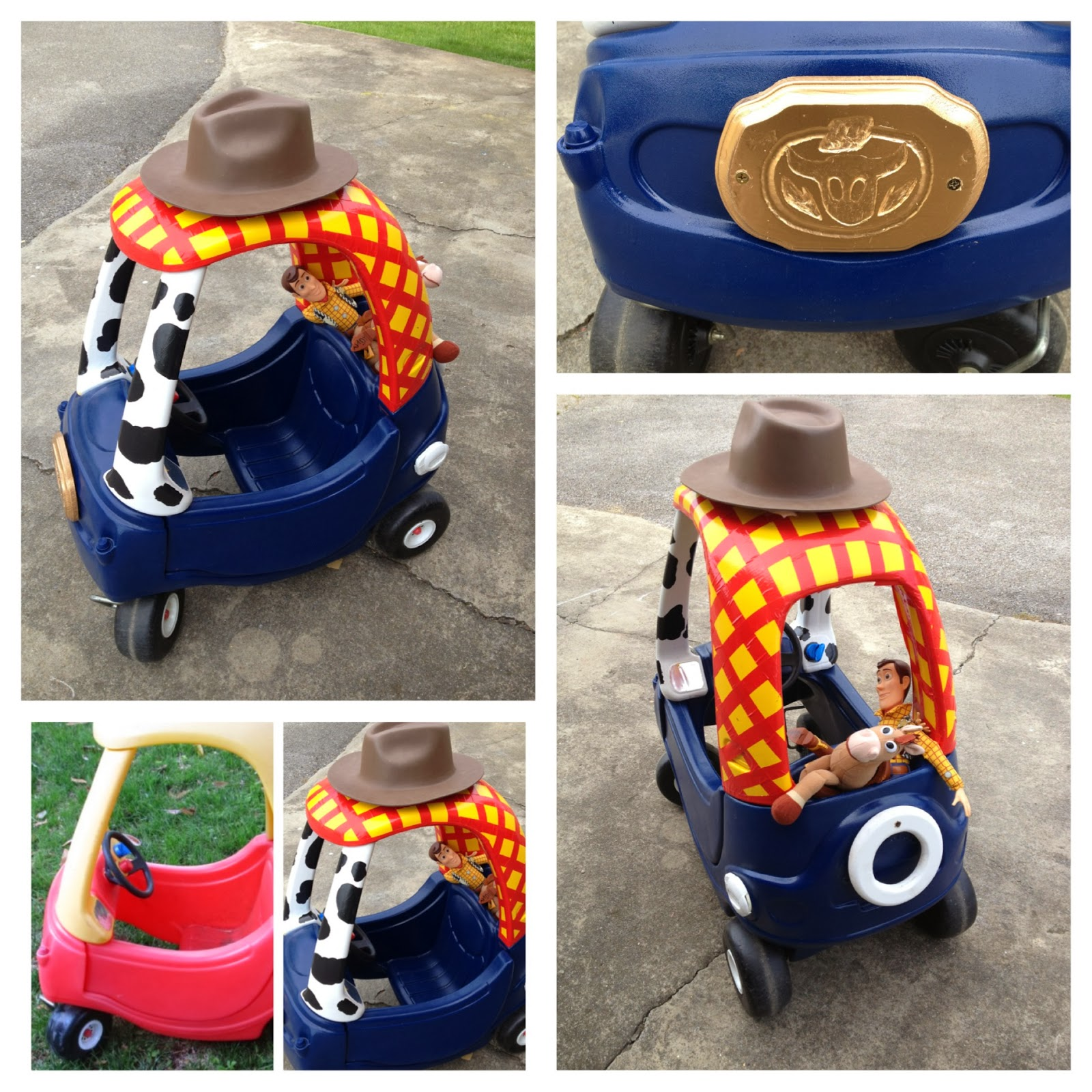 Geek squad cozy coupe too funny and cute Find this Pin and more on Holidays- Halloween by Joel&Eva Wissner. Geek Squad car made from Little Tykes Cozy Coupe. ideas for cozy coupe makeover, this would be great for Halloween.