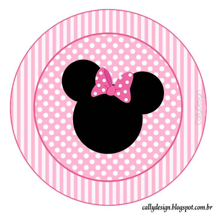 topper minnie rosa