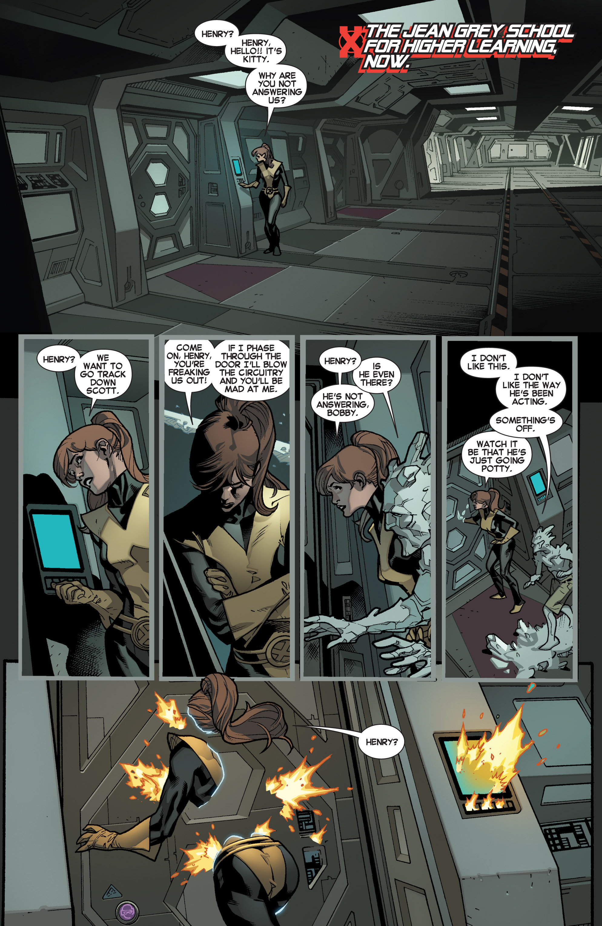 Read online All-New X-Men (2013) comic -  Issue # _Special - Yesterday's X-Men - 29