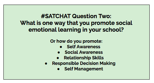 The Socialemotional Component Of >> Teach Children Well Social Emotional Learning Satchat