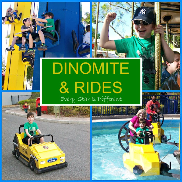 Enjoying rides at LEGOLAND with special needs
