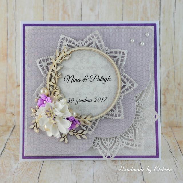 Ślubnie w fioletach