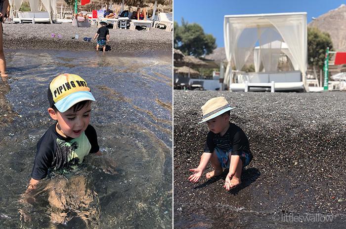 Perissa, Santorini - littleswallow.me