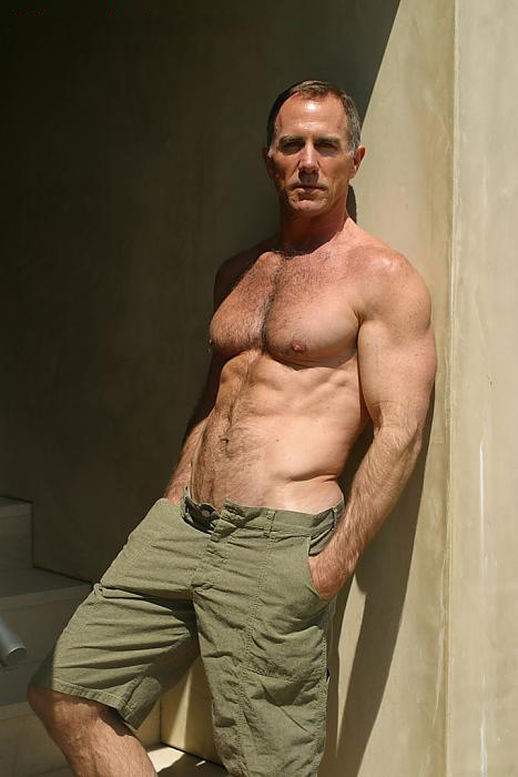 Hot mature man